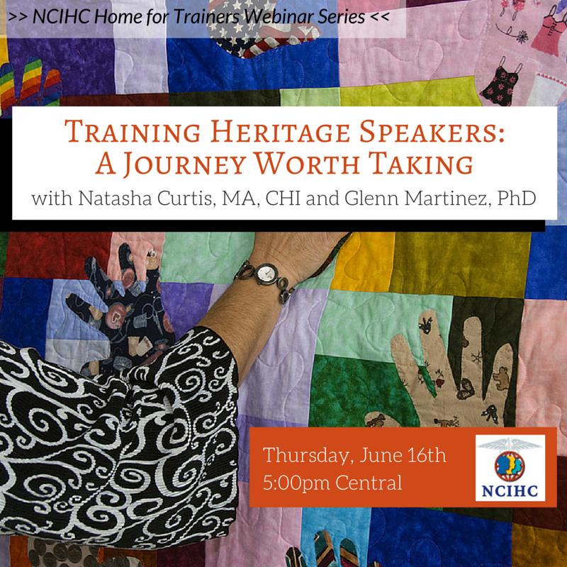Heritage Speakers Webinar